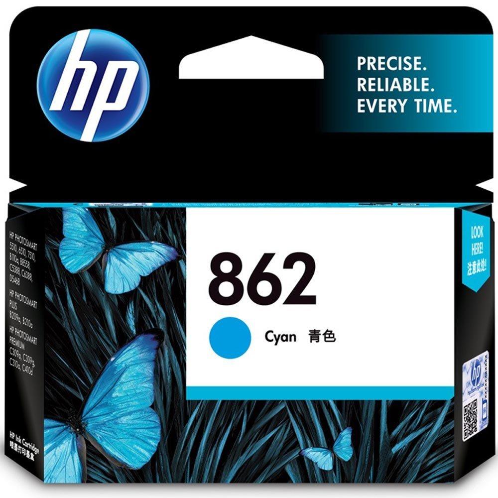 HP Hewlett - Packard CB318ZZ hộp số 862 xanh lông mòng (áp dụng cho HP PhotosmartC5388 B210a B110a 6