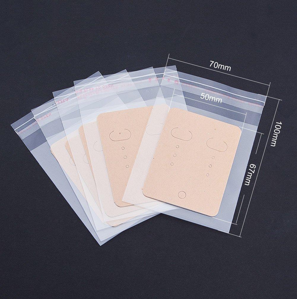 PH PandaHall ELITE 200 bộ trang sức bông giấy thấy thiệp đưa OPP cellophane túi