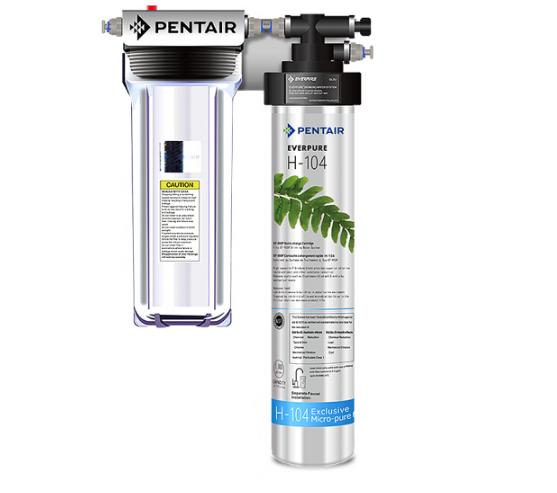 Everpure Bờ Thörl (Everpure) nước sạch nhà nhập khẩu Mỹ giữ thiết bị bếp sạch nước khoáng H-104 phiê