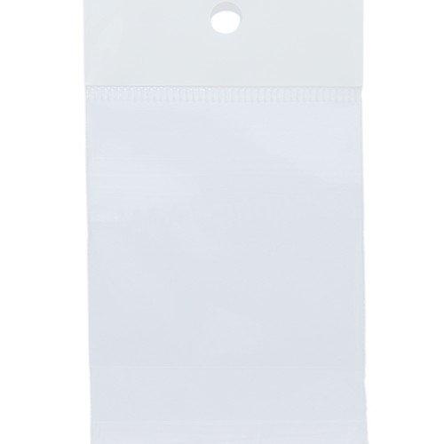 Shipwreck Beads   Aphon hạt nhựa hàng OPP túi áo, 1.8 inch, niêm phong, 2 x 50.17 cm, trong suốt, 25