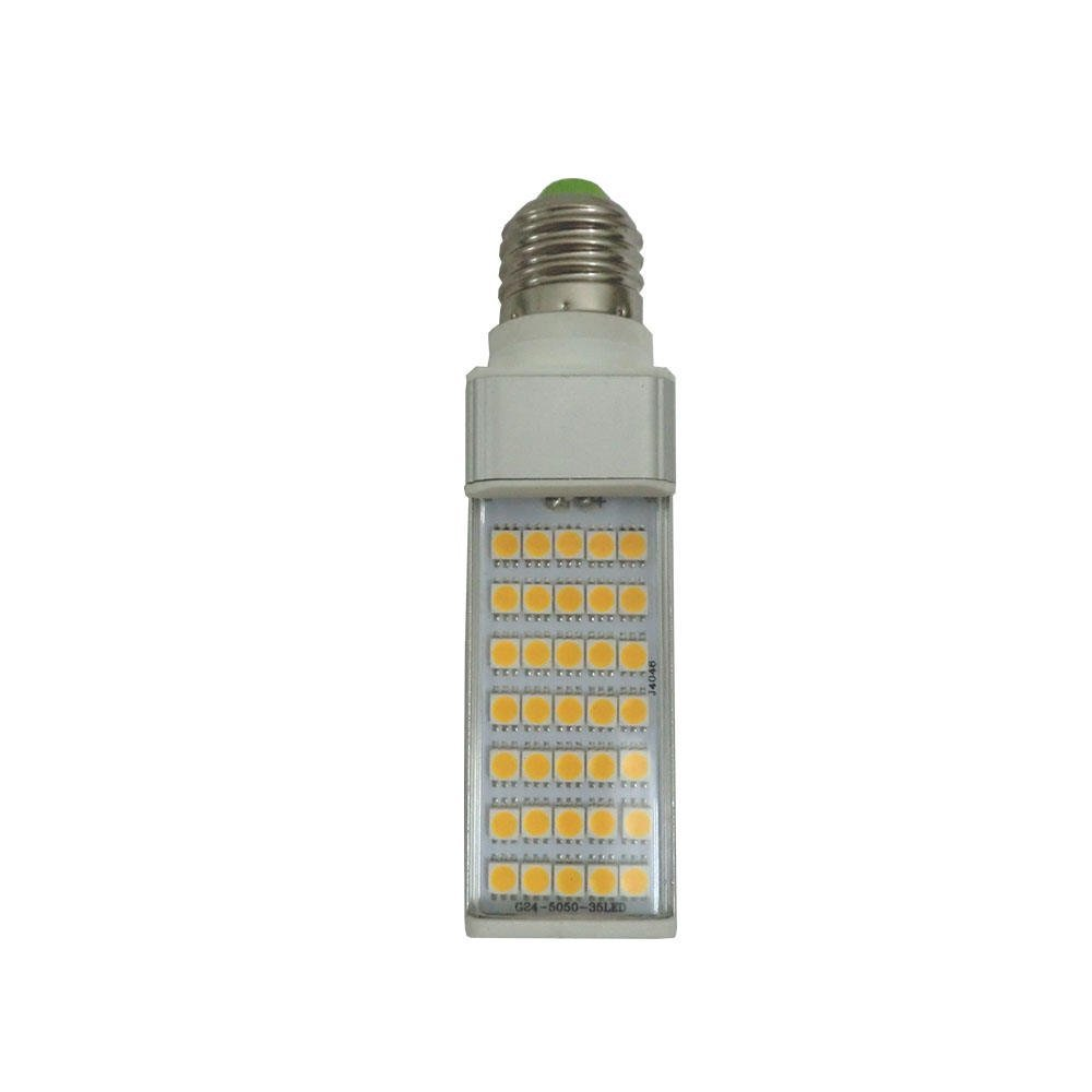 Liang Figure   Băng băng ngang gắn đèn 7W 4 đội nạp đơn sáng đèn Ngô lớn miệng ốc E27 G24 chuôi đèn