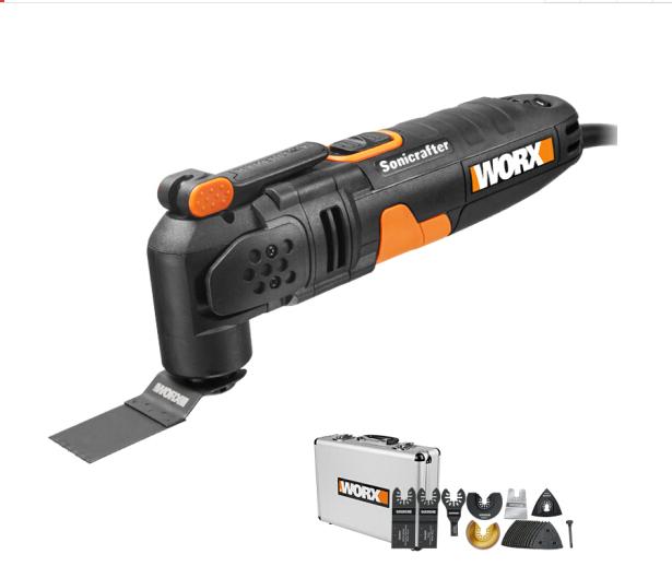 WORX (WORX) nhà máy có nhiều khả năng sử dụng bảo hộp đồ nghề thợ mộc WX679.5 triệu máy cắt máy mài