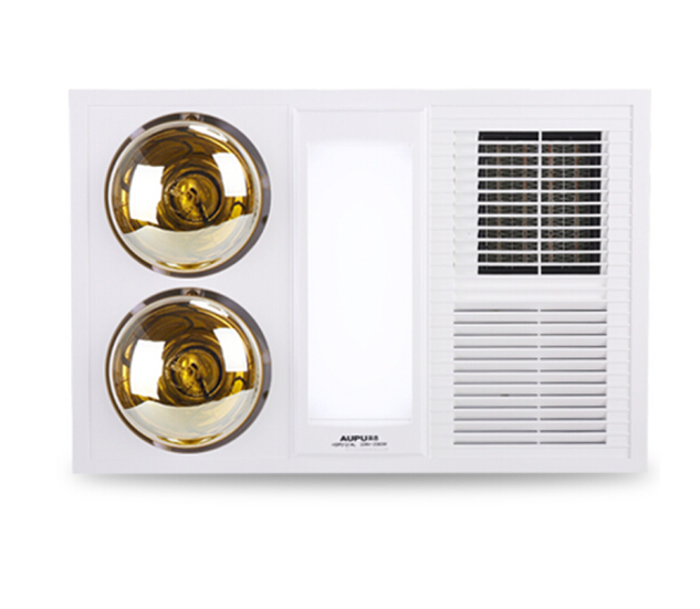 Aups (AUPU) HDP5121AL tích hợp đèn chiếu sáng LED gió ấm và có nhiều khả năng nhúng trắng.