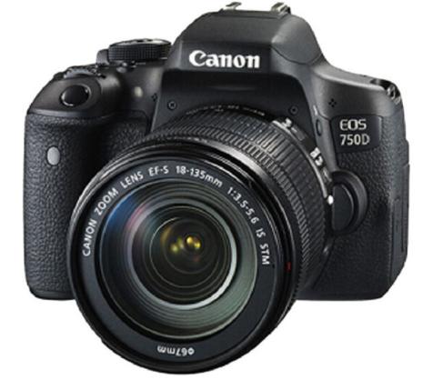 máy ảnh Canon (Canon) EOS 750D (EF-S 18-135mm f/3.5-5.6 IS STM bắn)