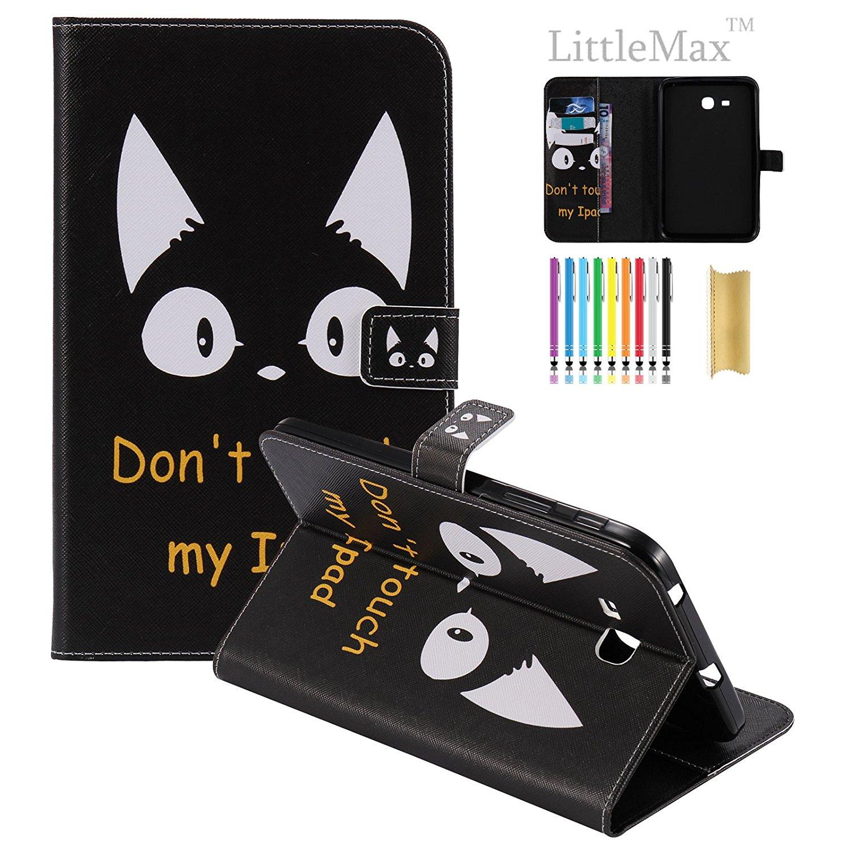 Phụ kiện máy tính bảng  Galaxy Tab 3 Lite 7.0 Case, LittleMax (TM) không Leather Folio Standing Wall