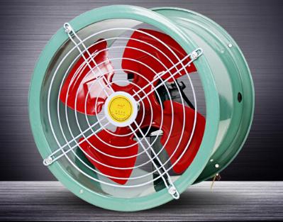 Tiếng ồn máy quạt gió SF thấp loại quạt hướng trục đường ống nhà xưởng công nghiệp mạnh mẽ tốc độ qu