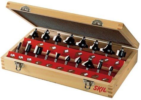 SKIL    Kỹ năng 91018 18 mảnh gỗ lấy bộ đồ hộp máy cắt cacbua