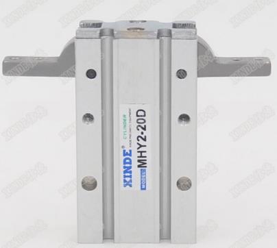 SMC loại khí di chuyển ngón vuốt MHY2-10D xi lanh khí MHY2-16D20D25D 180 độ mở và đóng MHY2-25D song