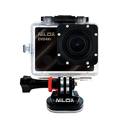 Nilox Hành động nilox cam EVO 4 K, 4 K camera rạp chiếu phim, 25 khung hình, 16 MP, đen.