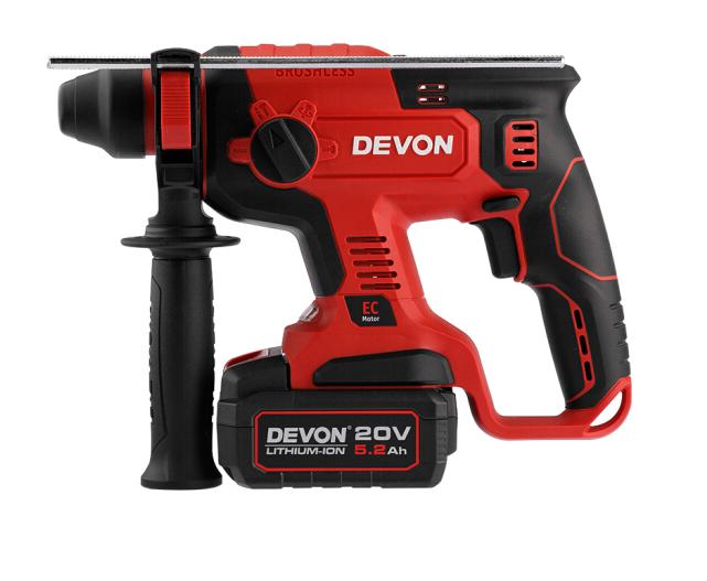 Devon Lớn có (Devon) 20V công nghiệp không chải 5401 sạc pin điện 5.2Ah đôi công thức Flash nạp tiền