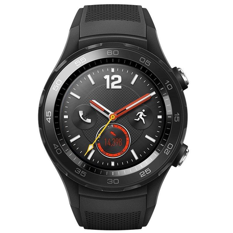 HUAWEI Huawei WATCH 2 thế hệ thứ 2 môn thể thao 4G Edition (đồng hồ thông minh tinh thể cacbon đen)
