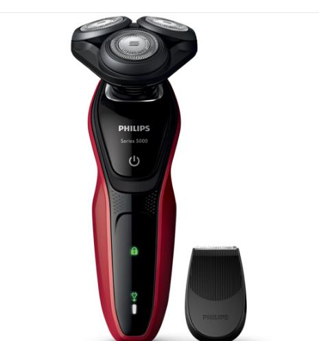PHILIPS Philips (PHILIPS) dao cạo điện nhiều chức năng của ướt nước rửa dao (với máy cắt tỉa râu) S5