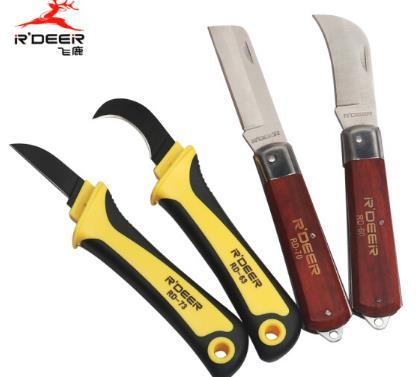 Bay Lộc Mộc Bính nhựa Bính dao Machete, cách nhiệt dao cắt dây cáp điện dao găm lưỡi dao công cụ điệ