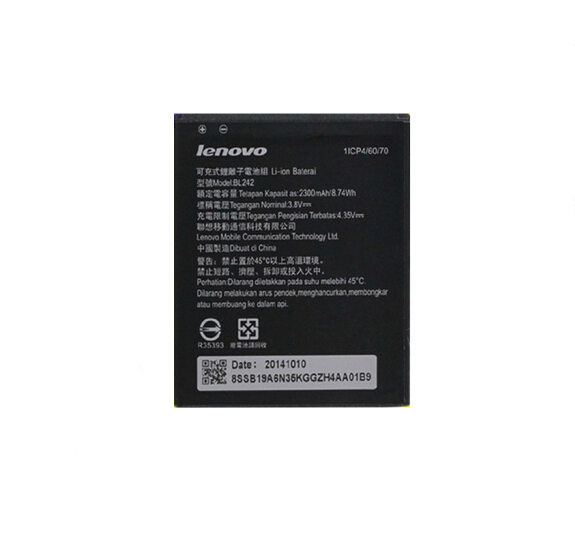 Lenovo Pin điện thoại liên tưởng BL242 pin điện thoại A3580 áp dụng A3860 A3900 le môm K3 K30-T/W/E