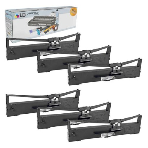 LD hộp sản phẩm thay thế tương thích với việc áp dụng cho EPSON S015337 (đen, 6 chỉ nạp)