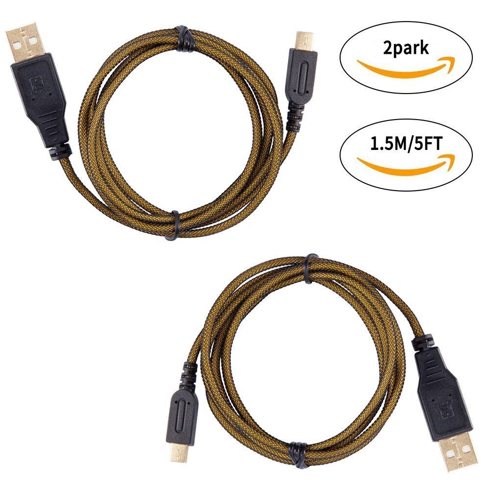 Starpeak USB kết nối dây sạc dây sạc USB anti-abrasive sleeving tốc độ áp dụng cho đồng bộ Nintendo