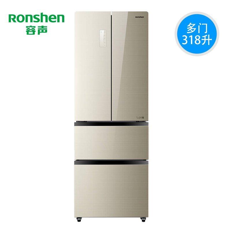 Ronshen/ BCD-318WD11MPAC Dommen, tủ lạnh gia dụng có 4 cửa kem một cấp.