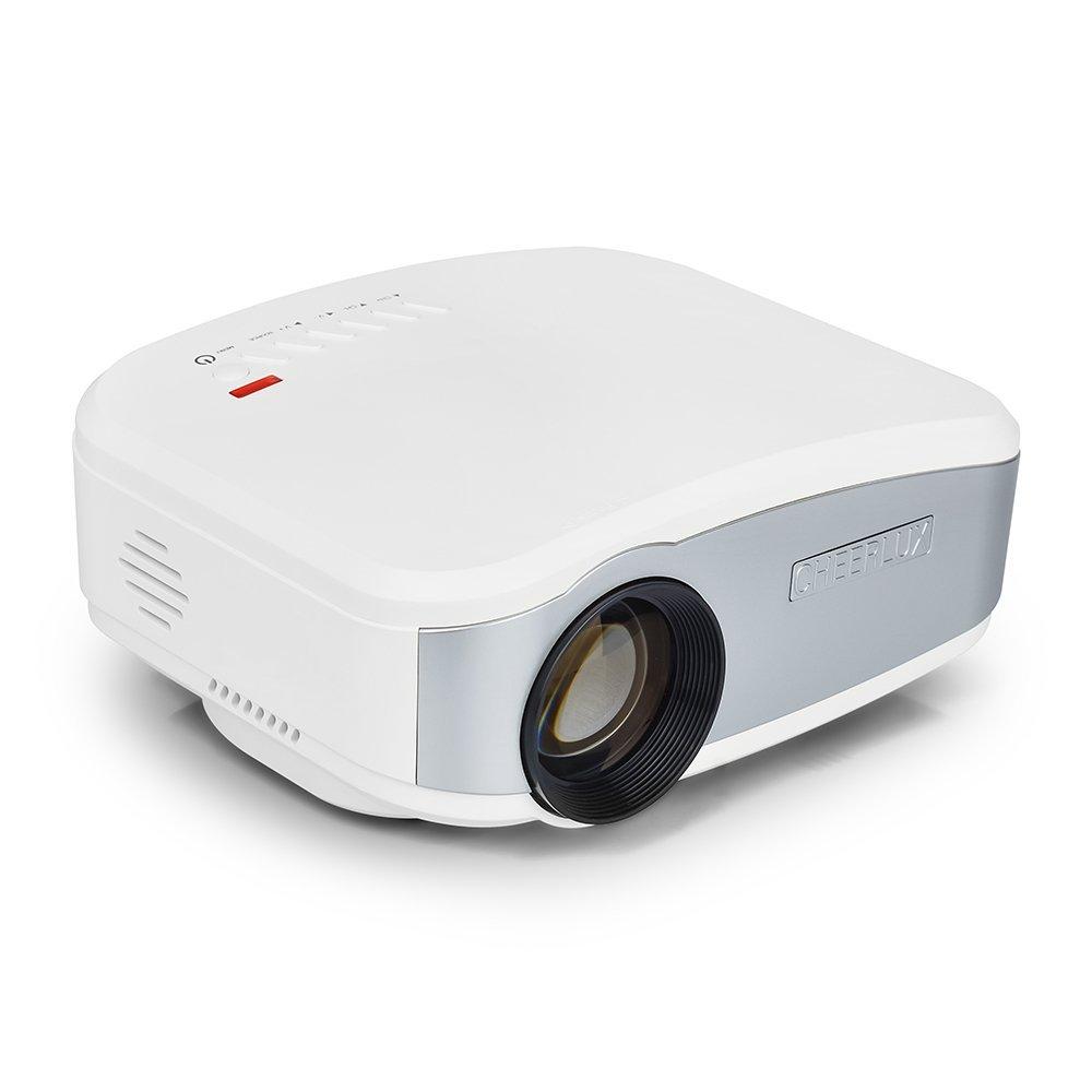 Cheerlux    Máy quay video, mini dẫn đa phương tiện LCD Beamer rạp chiếu phim rạp chiếu phim gia đìn