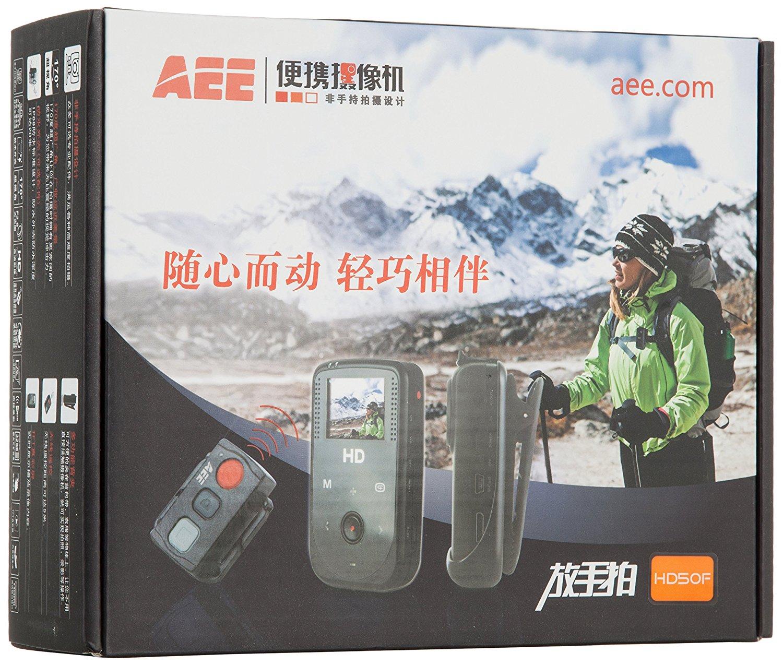 AEE HD50F xách tay máy ảnh kỹ thuật số (đen)