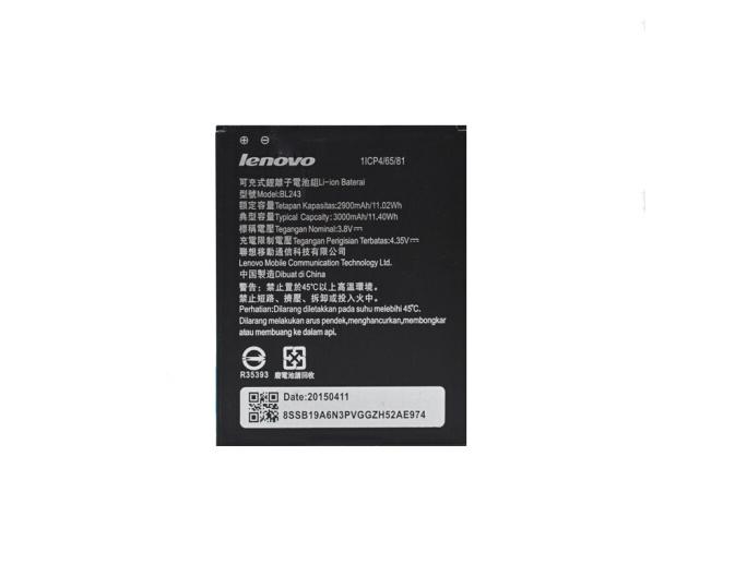 Lenovo Pin điện thoại liên tưởng BL243 pin điện thoại này áp dụng le K3 Note mới ráp xong K50-T5/T3S