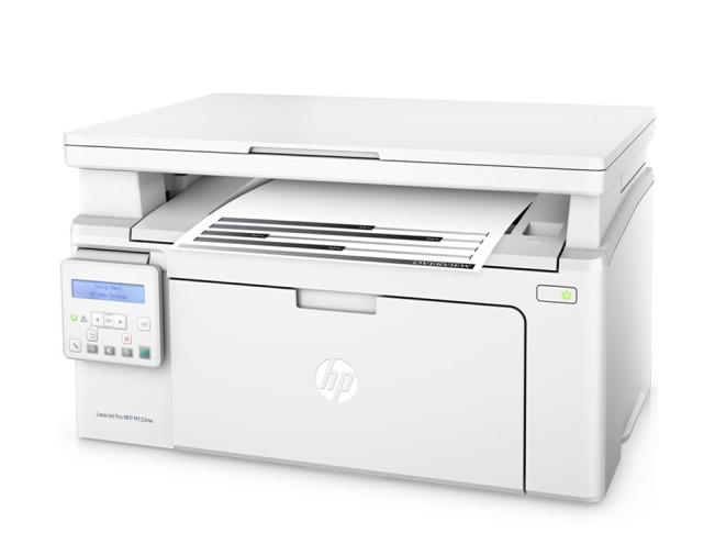 HP Máy mã laser Hewlett - Packard (HP) M132nw đen laser ba có nhiều khả năng một máy vô tuyến (Hewle