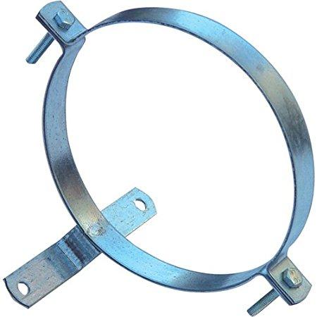 wolfpack Lò ống đàn sói 22010035 clip – mạ kẽm, hỗ trợ, 200 mm)