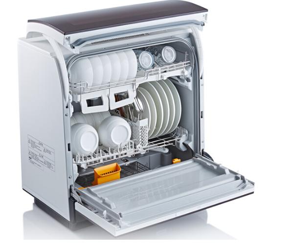 Panasonic Panasonic (Panasonic) máy rửa chén bát sấy khô hai giỏ phi NP-TR1TTCN ( Red)