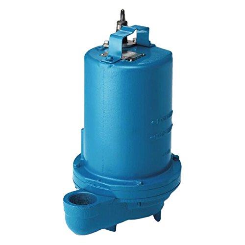 Crane Pumps Cần cẩu cao gót 105058 chìm nước thải cao gót, 1/2 HP, màu xanh