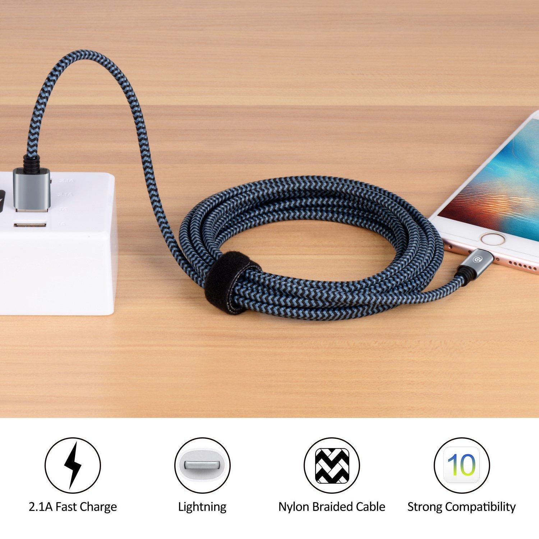 Dòng dữ liệu Bangcord isos784 sấm sét dữ liệu USB Charger đường 3 / 6 inch / 10 đường dây sạc dây ni