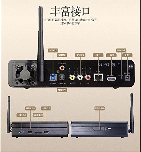 HIMEDIA biển Q10 mạng truyền hình hộp GPU 4K STB 8 nhân mạng Player 3D / Blu - ray phát thanh màu xa