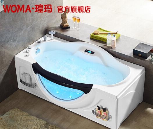 WOMA WOMA Ma - bồn tắm nóng có nhiệt độ ổn định độc lập gia dụng lớn kiểu lướt sóng massage bồn tắm