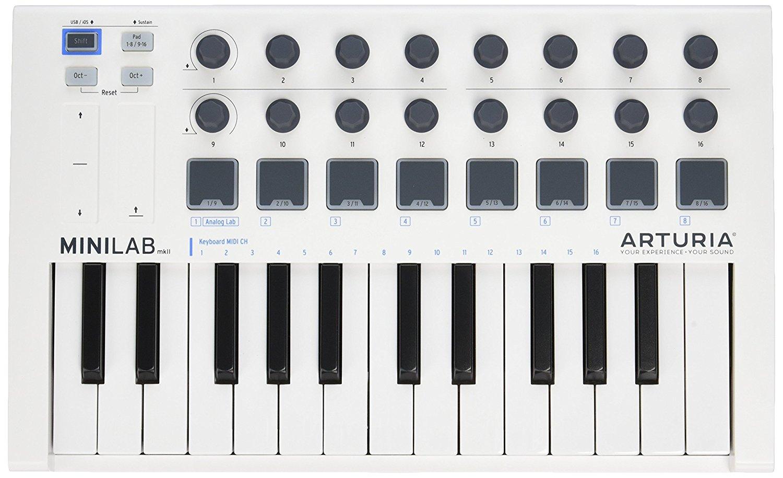 Arturia phóng hình màu MKII 25 Slim là chìa khóa của bộ điều khiển