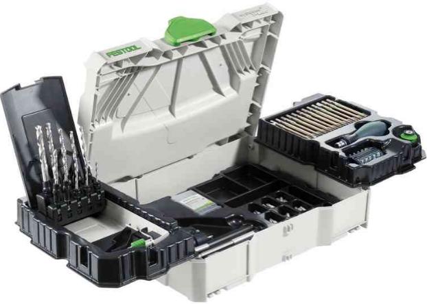 FESTOOL Bộ tổ hợp các công cụ lắp ráp FESTOOL SYS 1 CE-SORT