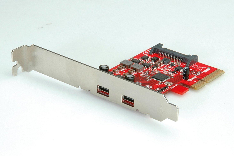 Rotronic 15062143 bày tỏ roline thẻ PCI, cổng USB Type C - 1, 2.
