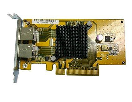 QNAP dualport mạng - thẻ mở rộng áp dụng cho Rackmount series TS - ecx80u / TVS - x71u / TS - x63u /