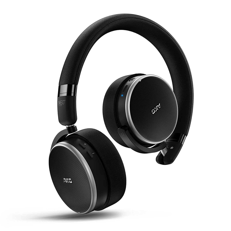 AKG yêu công nghệ N60NC đeo tai nghe Bluetooth không dây đầu giảm nhiễu loại tai nghe này tương ứng