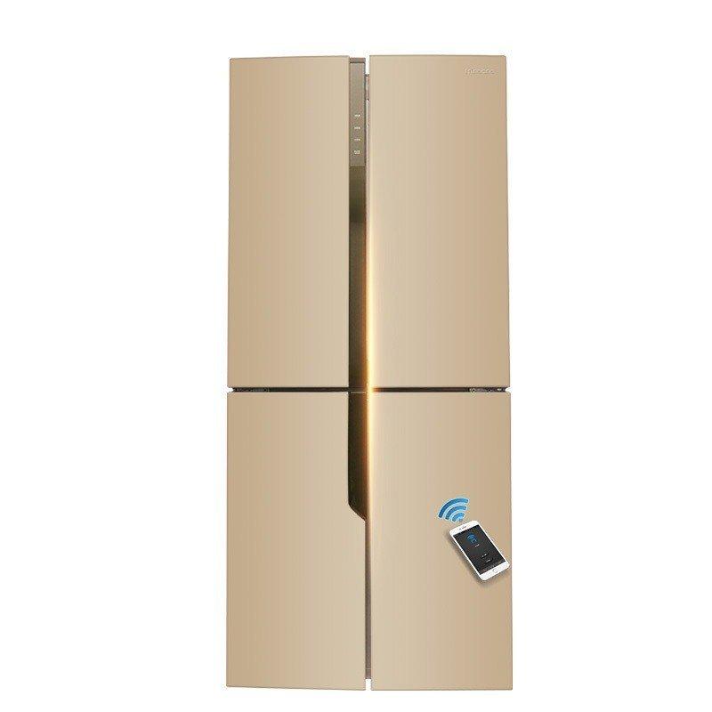 Hisense/ BCD-459WTDVBPI/Q Dommen tủ lạnh thông minh thay đổi tần số không có kem.