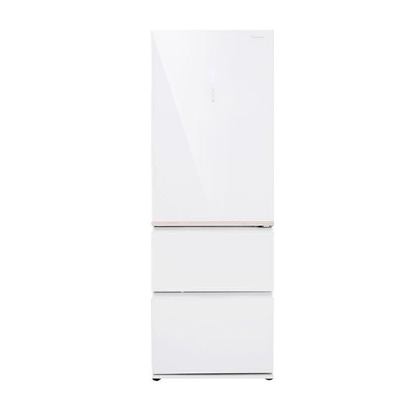 Panasonic NR-C380TX-XW (Crystal Bạch) 380 lít ba cửa tủ lạnh tủ lạnh tủ lạnh gia dụng Panasonic khôn