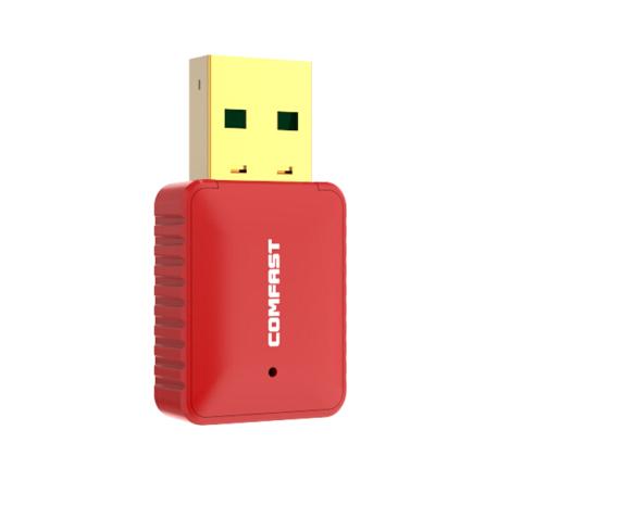 COMFAST COMFAST WU815N miễn ngập Edition mini USB card mạng không dây Wifi máy thu phát tín hiệu. D