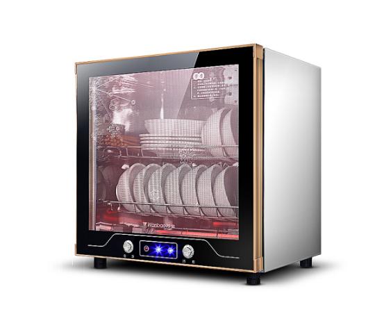 Wanbao Vạn Bảo (Wanbao) mini khử trùng gia dụng nhỏ tủ nhiệt độ cao khử trùng thép không gỉ 50L 50 l