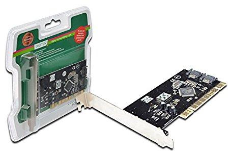 digitus Ngón chân ngón SATA kích 2 cổng PCI Card. 250