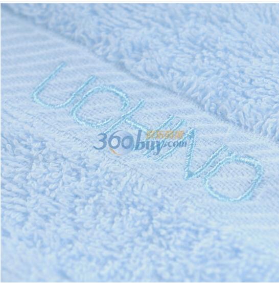 UCHINO khăn Nhật (UCHINO) khăn thêu từ hai mảnh khăn tắm, khăn khăn xanh công ty Phúc Lợi B