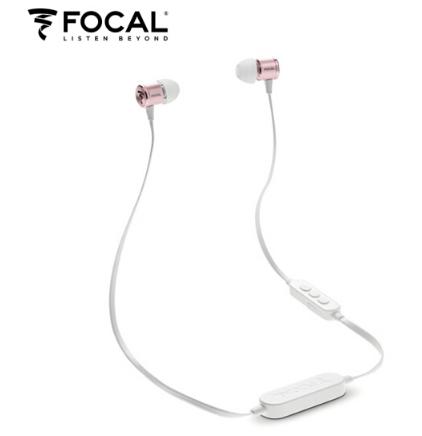 Tai nghe. Sóng (FOCAL) Spark Wireless Rose Gold điện thoại không dây tai nghe Bluetooth. nhạc vàng h