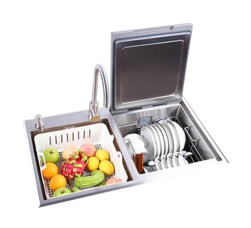 DieMei Đĩa Mỹ (loại bồn rửa bát DieMei) 6 bộ nhúng rửa bát tự động ba nhà thông minh bồn rửa bát đĩa