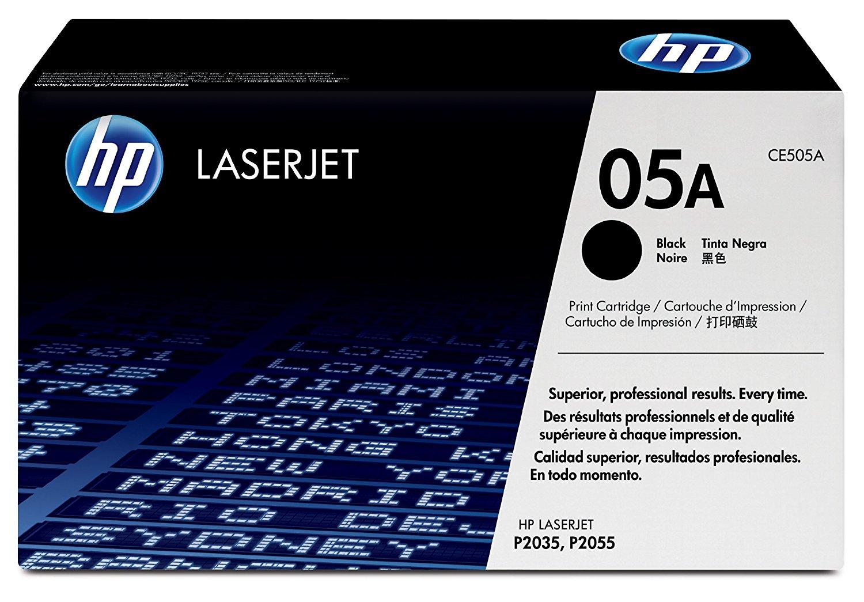 HP Hewlett - Packard CE505A đen 05A (áp dụng P2035 P2055