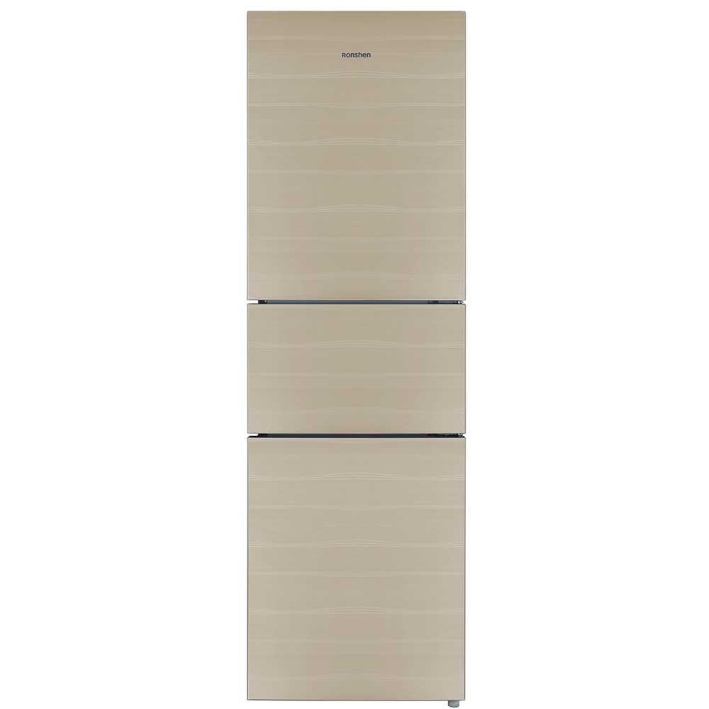 Ronshen BCD-220WKB1NYC 220 lít ba cửa tủ lạnh không có kem đến vàng