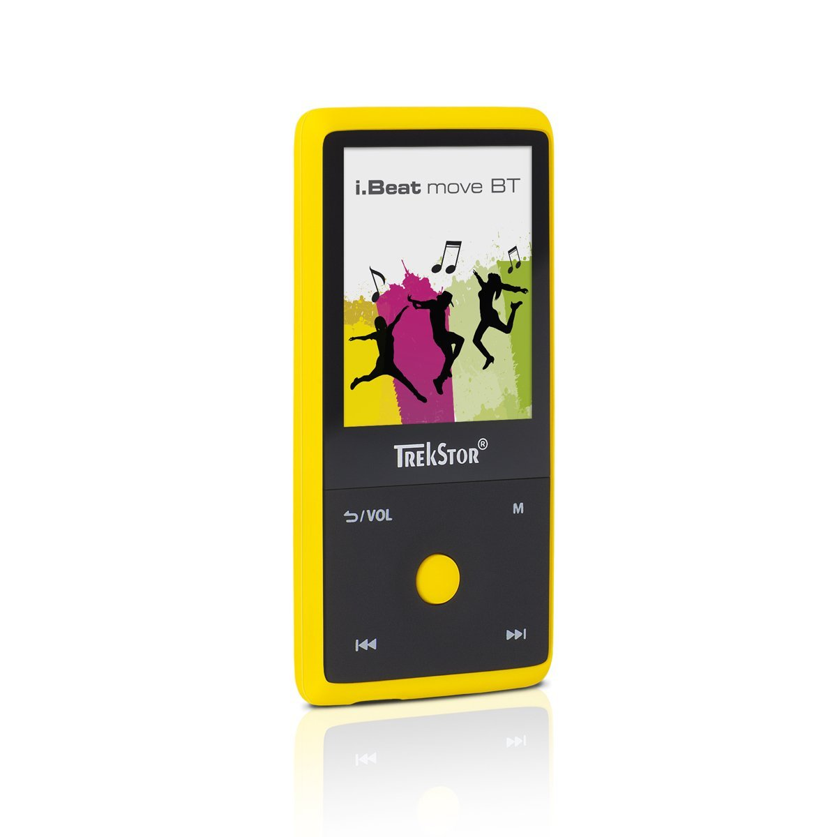 Trekstor i.beat tập tin MP3 Player chắc chắn của hành động, TFT 1.8 inch màn hình màn hình tinh thể