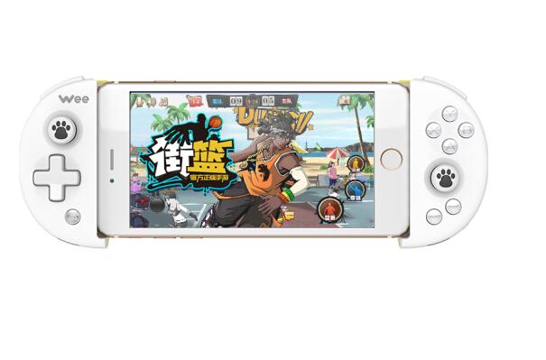 Bay trí Wee xoạc chân tay cầm điện thoại không dây Bluetooth 4.0 trò chơi cầm. Apple Android vị vua