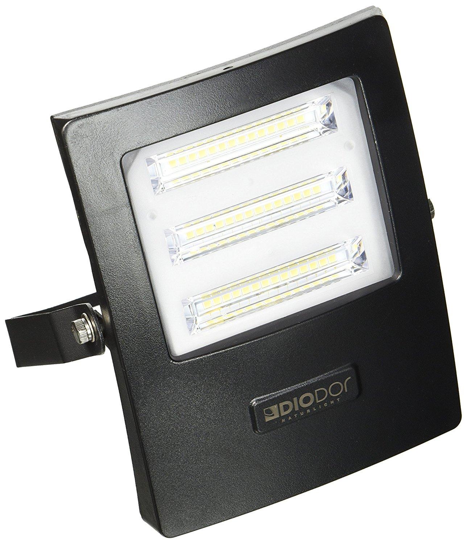 DIODOR     Ánh sáng đèn LED phiếm Sicilia, nhôm, 20 watt, đen 11.5 15.5 4,5 cm x, X