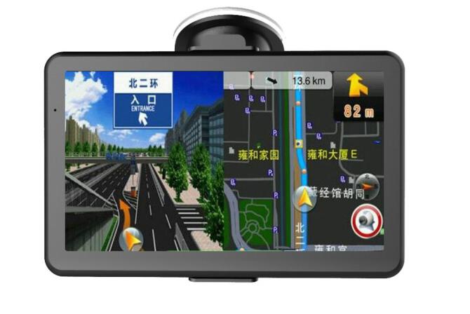 3 triệu Ðức Chúa Trời người dò đường Navigator D20 7 inch độ nét cao xe gắn máy GPS OnStar! Chó một